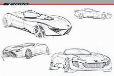 Honda S2000 2020 tanulmány