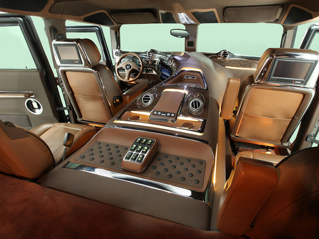 Hummer h1 mint luxusterepj r carstyling hu magyar for Interieur hummer