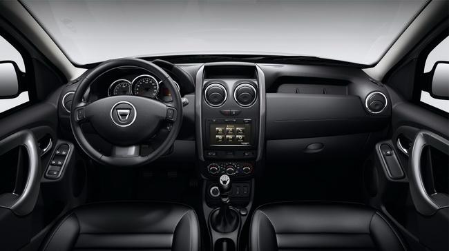 Belül már egész mutatós a Dacia Duster