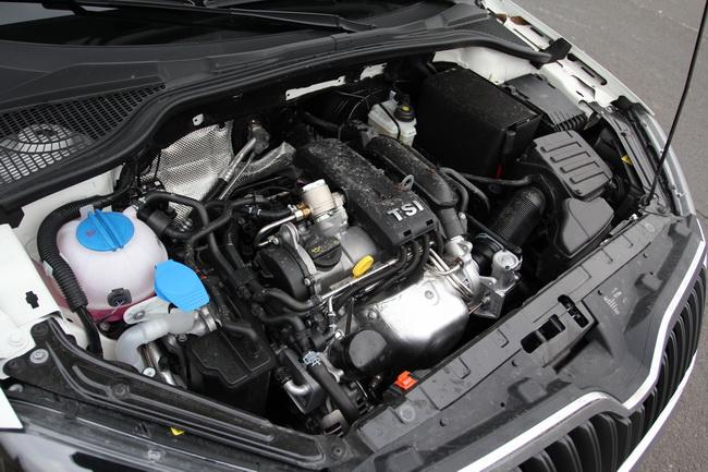 Skoda Yeti 1.2 TSI motor teszt