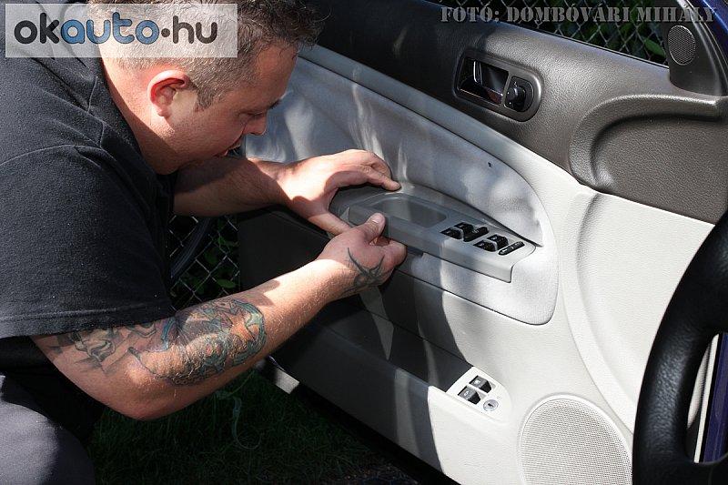 Autó tetőkárpit javítás győr