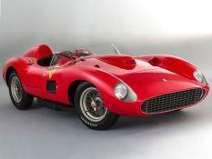 1957-es Ferrari 355 S Spider Scaglietti