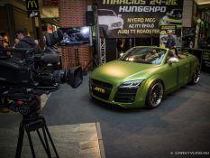 AMTS 2017 Audi TT Roadster nyereményautó építés