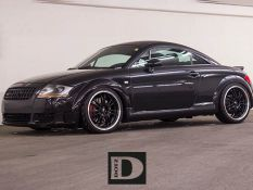 Audi TT vs. DOTZ Shift Black Polished