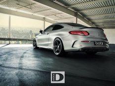 DOTZ SP5 Dark vs. Mercedes C63 AMG