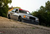 Mercedes W124 by Sly - 2017 edition
