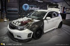 Billetworkz Subaru WRX GT-R hibrid
