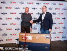 Unix-Castrol nyereményjáték díjátadó
