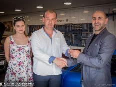 AMTS 2018 nyereményautó-átadás