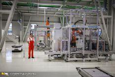 Audi e-motor gyárindítás