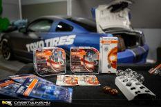 OSRAM termékek szerelése az AMTS Ford Mustang nyereményautóba