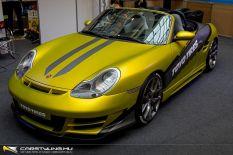 AMTS 2020 Porsche Boxster S nyereményautó építés