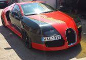 Szegény ember Bugatti Veyronja