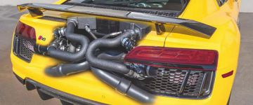 2.200 lóerő a világ első ikerturbós, új Audi R8-asából!
