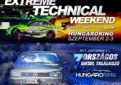 Gyorsulás, szlalom, drift és dízelek: szeptember 2-3. Hungaroring