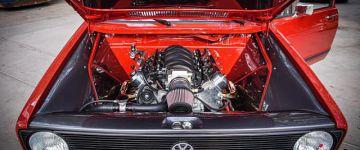 Golf I-ben V8-at láttál-e már?