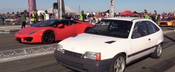 Kis Opel nagy kalandja a gyorsulási versenyen