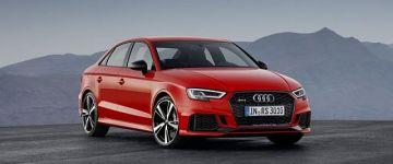 Hoppácska! Gallardo verő az új Audi RS3 Sedan?