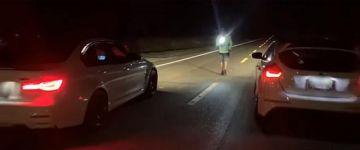 M3-as BMW-ket eszik vacsorára egy tuningolt Ford Focus RS