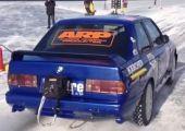 Brutálisat megy havon is a Supra motorral szerelt BMW E30 M3