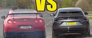 Ki lesz a befutó? Nissan GT-R vs Lamborghini Urus