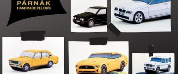 Egyedi autóról egyedi 3D párnát!