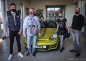 Új gazdájához került az AMTS Porsche Boxster S