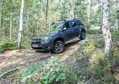 Dacia Duster menetpróba