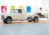 V8-as Trabant 601 Lowrider: Trabantinimo