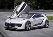 400 lóerős hibrid: VW Golf GTE Sport Concept
