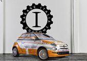 Star Wars ihlette Garage Italia Fiat 500