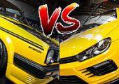 VW-párbaj sárgában: oldschool vs. newschool