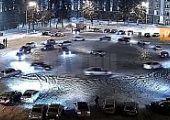 Sószóró vetett véget a BMW-sek drift bulijának