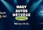 Nagy Autós Hétvége - vásárolj vasárnap estig elképesztő kedvezményekkel!