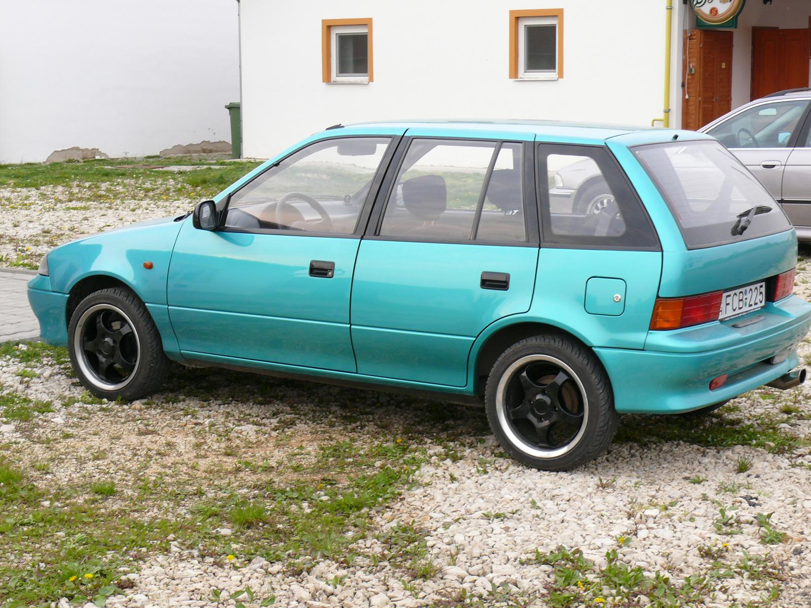 Suzuki Swift MK2 tuning (Kszajga) - CARSTYLING COM :: Magyar