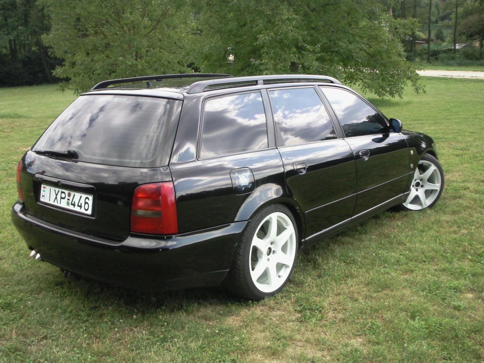 Audi A4 Avant 19 Tdi Tuning Blackaudi Carstylingcom Magyar