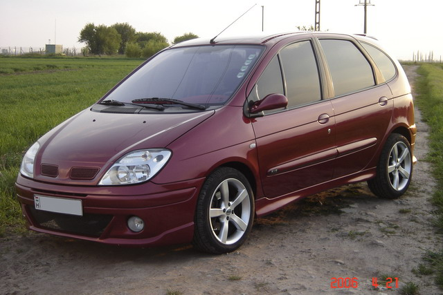 renault scenic 1 9 dci tuning attis01 carstyling com magyar aut tuning port l s web ruh z. Black Bedroom Furniture Sets. Home Design Ideas