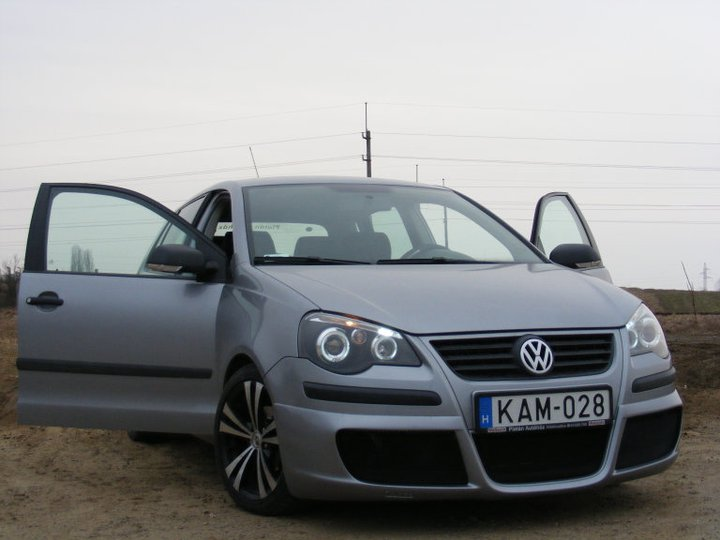 volkswagen polo 9n3 tuning tomy 85 carstyling hu. Black Bedroom Furniture Sets. Home Design Ideas