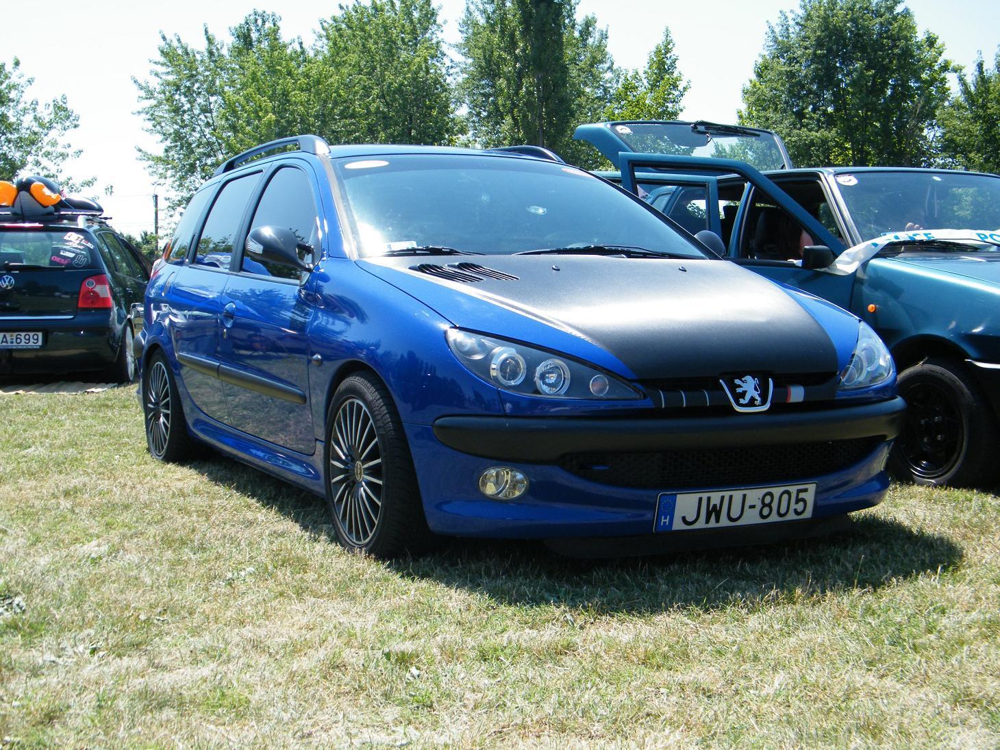 Peugeot 206 Sw Tuning Alig Carstyling Com Magyar Autotuning Portal Es Webaruhaz