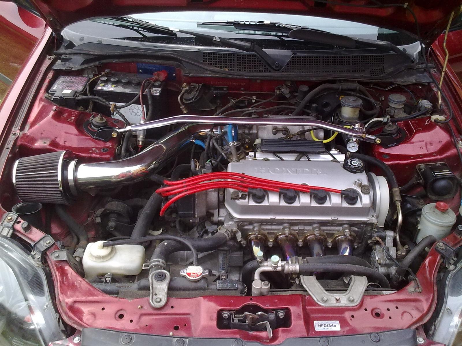 Honda civic 1.5 lsi tuning