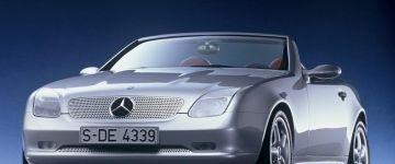 Mercedes SLK-osztály - kalap