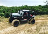 Jeep Wrangler - azintéző