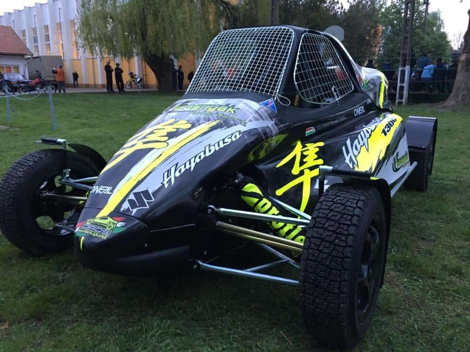 Cross Car Hayabusa buggy